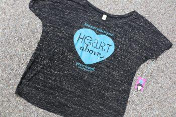 Heart Above T-shirt